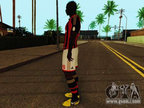 Mario Balotelli v1 for GTA San Andreas third screenshot