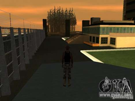 La villa de la noche beta 1 for GTA San Andreas second screenshot