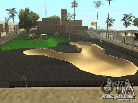 The new velopark in LS for GTA San Andreas