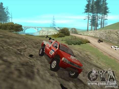 Nissan Pickup for GTA San Andreas right view