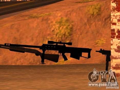 M95 Barrett Sniper for GTA San Andreas third screenshot