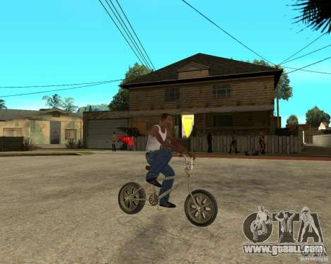 WideWheel-BMX 1 LOUIS VUITTON Version for GTA San Andreas right view