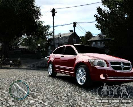 Dodge Caliber for GTA 4 side view