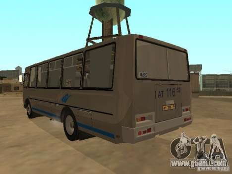 Groove-4234 for GTA San Andreas back view