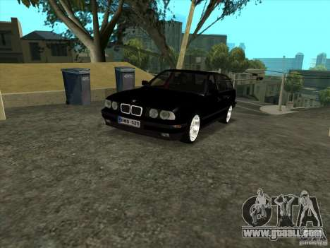 BMW E34 535i Touring for GTA San Andreas back left view
