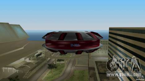 Ultimate Flying Object for GTA Vice City back left view