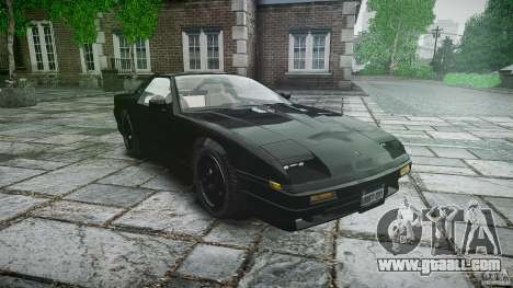 Ruiner KNIGHT RIDER Skin for GTA 4 back view