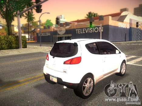 Mitsubishi Colt Rallyart for GTA San Andreas back left view