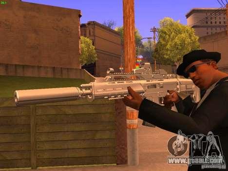 TeK Weapon Pack for GTA San Andreas seventh screenshot