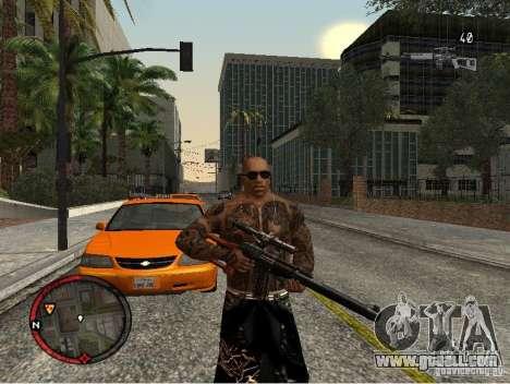 GTA IV HUD v1 by shama123 for GTA San Andreas