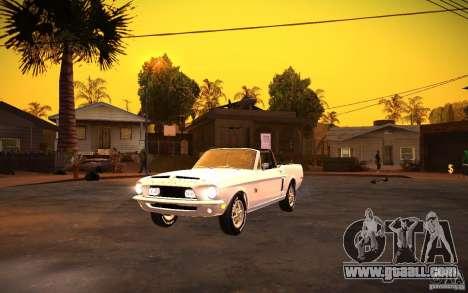 ENBSeries v1.0 By GAZelist for GTA San Andreas second screenshot