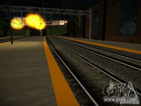 New Rails for GTA San Andreas