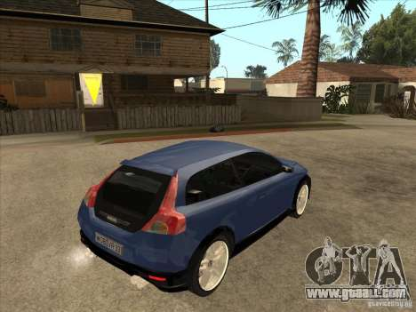 VOLVO C30 Sport 2009 for GTA San Andreas right view