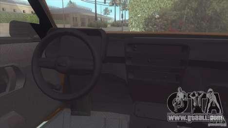 Fiat Cinquecento for GTA San Andreas right view