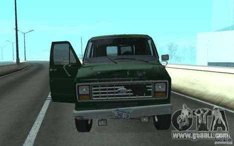 Ford E-150 Short Version v1 for GTA San Andreas left view