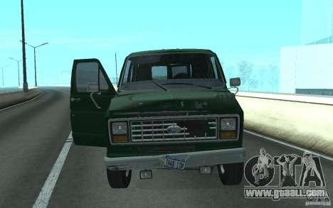 Ford E-150 Short Version v4 for GTA San Andreas left view
