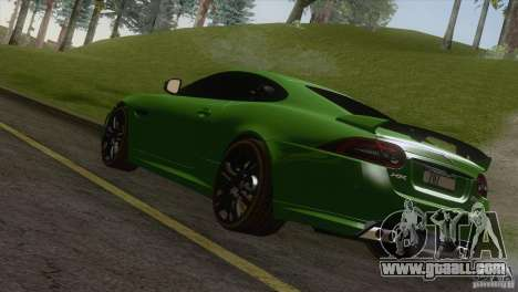 Jaguar XKR-S 2011 V1.0 for GTA San Andreas left view