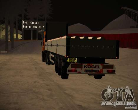 Onboard Kogel for GTA San Andreas left view