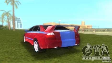 Audi A4 STREET RACING EDITION for GTA Vice City right view