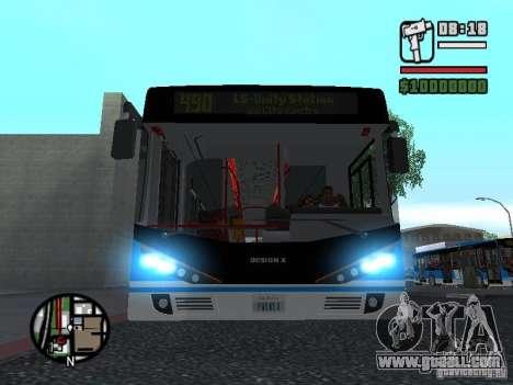 Design-X4-Dreamer for GTA San Andreas left view