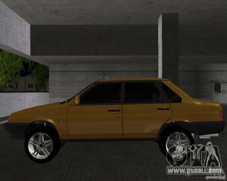 Vaz 21099 Light Tuned for GTA Vice City left view