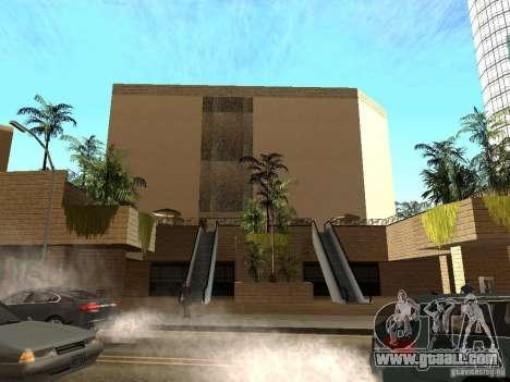 New textures downtown Los Santos for GTA San Andreas