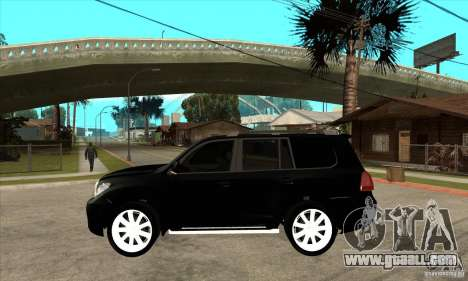 Lexus LX 570 2010 for GTA San Andreas left view