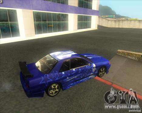 Nissan Skyline R32 GTS-T type-M for GTA San Andreas side view