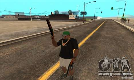 WEAPON BY SWORD for GTA San Andreas fifth screenshot