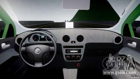 Volkswagen Gol Rallye 2012 v2.0 for GTA 4 right view