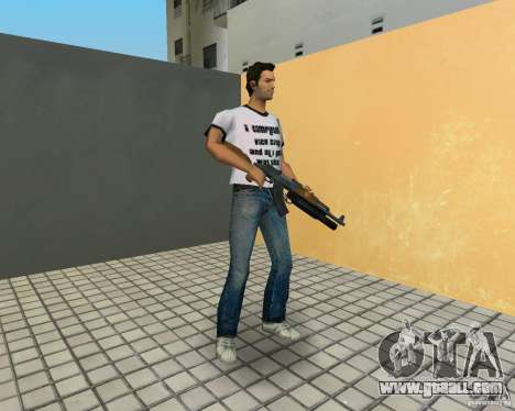 AK-47 with a grenade launcher М203 for GTA Vice City fifth screenshot