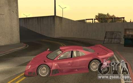 Mercedes-Benz CLK GTR road version (v2.0.0) for GTA San Andreas left view