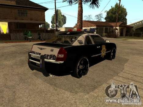 Chrysler 300C Police for GTA San Andreas