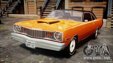 Dodge Dart GT 1975 [Final] for GTA 4