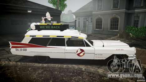 Cadillac Ghostbusters for GTA 4 back view