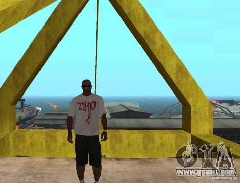 WWE RKO t shirt for GTA San Andreas