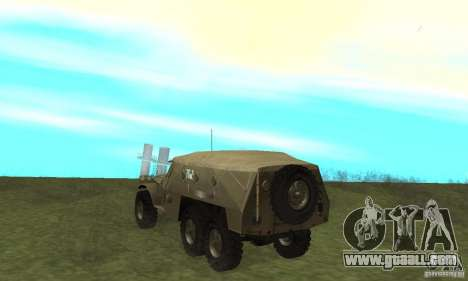 BTR-152 for GTA San Andreas right view