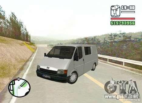 Ford Transit 1999 for GTA San Andreas