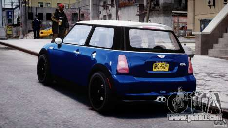 Mini Cooper S 2003 v1.2 for GTA 4 back left view