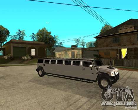 AMG H2 HUMMER 4x4 Limusine for GTA San Andreas