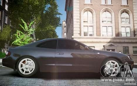 Toyota Celica GT-FOUR for GTA 4 inner view