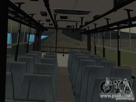 Ikarus C60 for GTA San Andreas back view