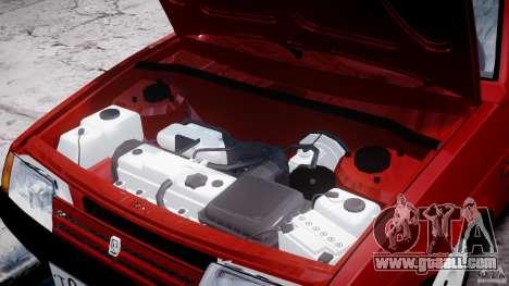 Vaz-21093i for GTA 4 side view
