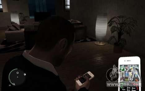Iphone 4G for GTA 4 third screenshot