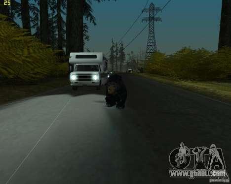 Bear for GTA San Andreas second screenshot