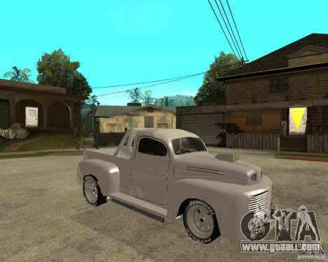 Ford F1 Pickup Hotrod 49 for GTA San Andreas right view