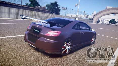 Honda Civic Si Tuning for GTA 4 side view