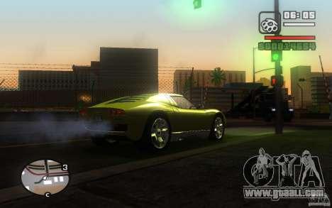 Lamborghini Miura Concept for GTA San Andreas right view