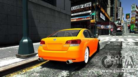 Subaru Legacy B4 for GTA 4 left view