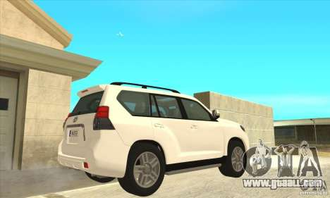 Toyota Land Cruiser Prado 150 for GTA San Andreas right view